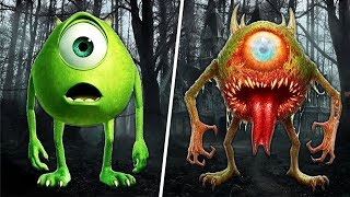 Cartoon Characters as Zombies! 😱 ( Cartoons as Monsters 2017 )