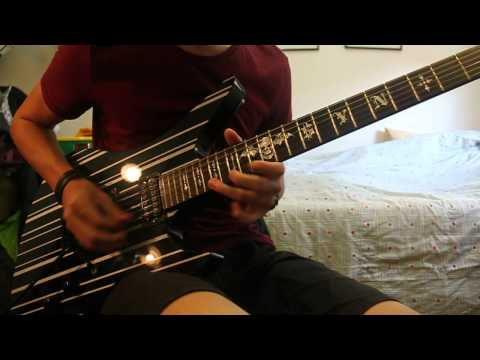 Avenged Sevenfold - The Wicked End (Guitar solo + Sweeps) HD