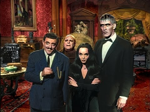 addams family house 1964 tv series - youtube