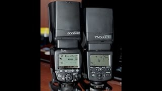 сравнение Canon 600EX-RT и Yongnuo YN568EX II for Canon