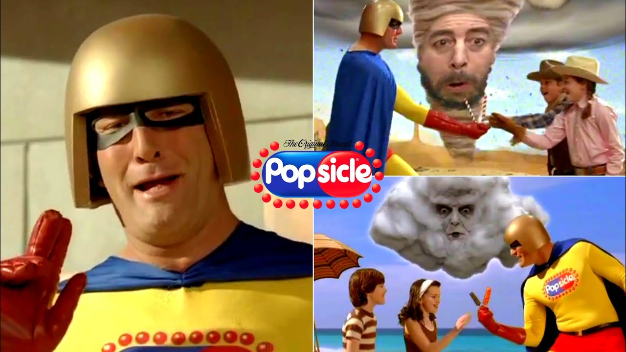All Funniest Popsicles Ice Pop Classic TV Commercials EVER!