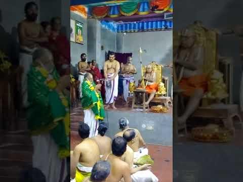 Acceptance Speech By Mannargudi Swami