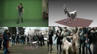 Коза для фильма «Студия Нижний»