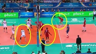 """Volleyball """"PLAYERS STOP PLAYING"""" Moments"""
