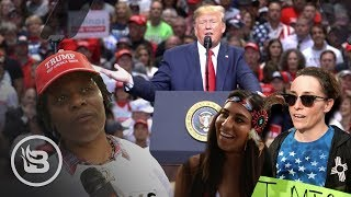 Asking REAL Trump Supporters Why They Support The President