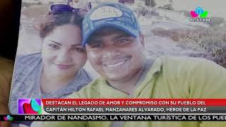 Multinoticias: Destacan el legado de amor y compromiso del capitán Hilton Manzanares