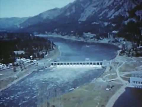 The Columbia River in the 1940s - Grand Coulee Dam - Lake Roosevelt - CharlieDeanArchives