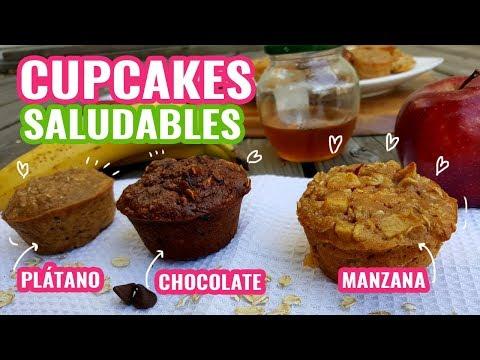 3 Recetas de cupcakes saludables para el regreso a clases