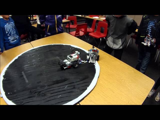LEGO Sumo Competition (LEGO Mindstorms Robotics Kit EV3)