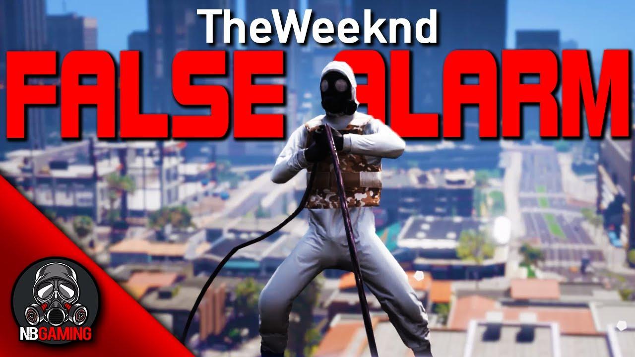 The Weeknd - False Alarm - Made in GTA5