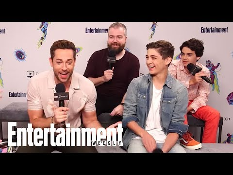 Shazam!: Zachary Levi Is Confused By The 'Shazam!', Kazaam Debate | SDCC 2018 | Entertainment Weekly