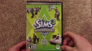 The Sims 3 High End Loft Stuff unboxing