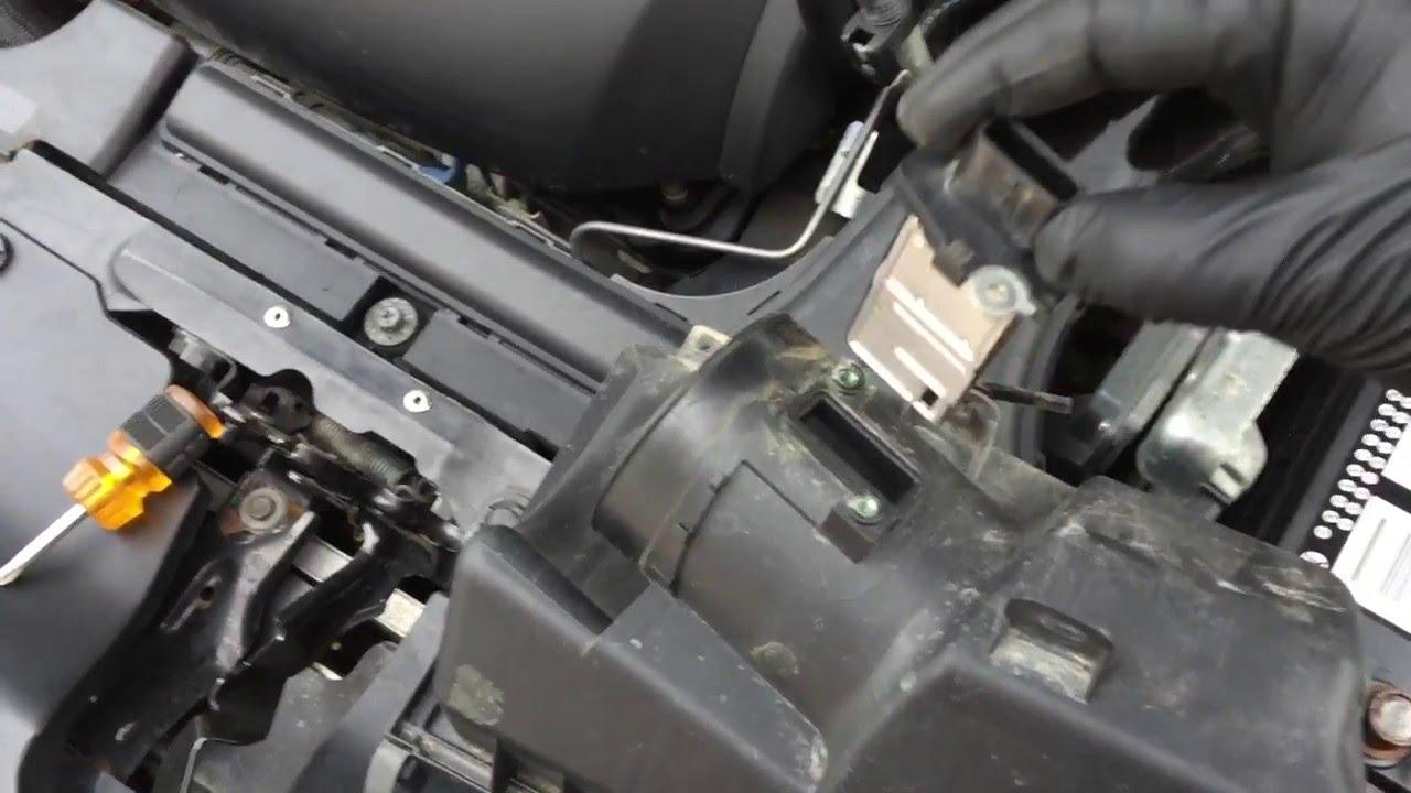 Nissan Maxima Code P0101  YouTube