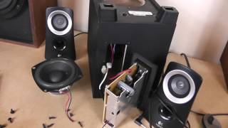 Logitech Z313 2.1 Speaker System Overview and Test