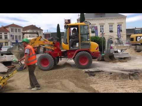 Travaux Place Charles de Gaulle Nogent 2016 - 2018 Partie 3