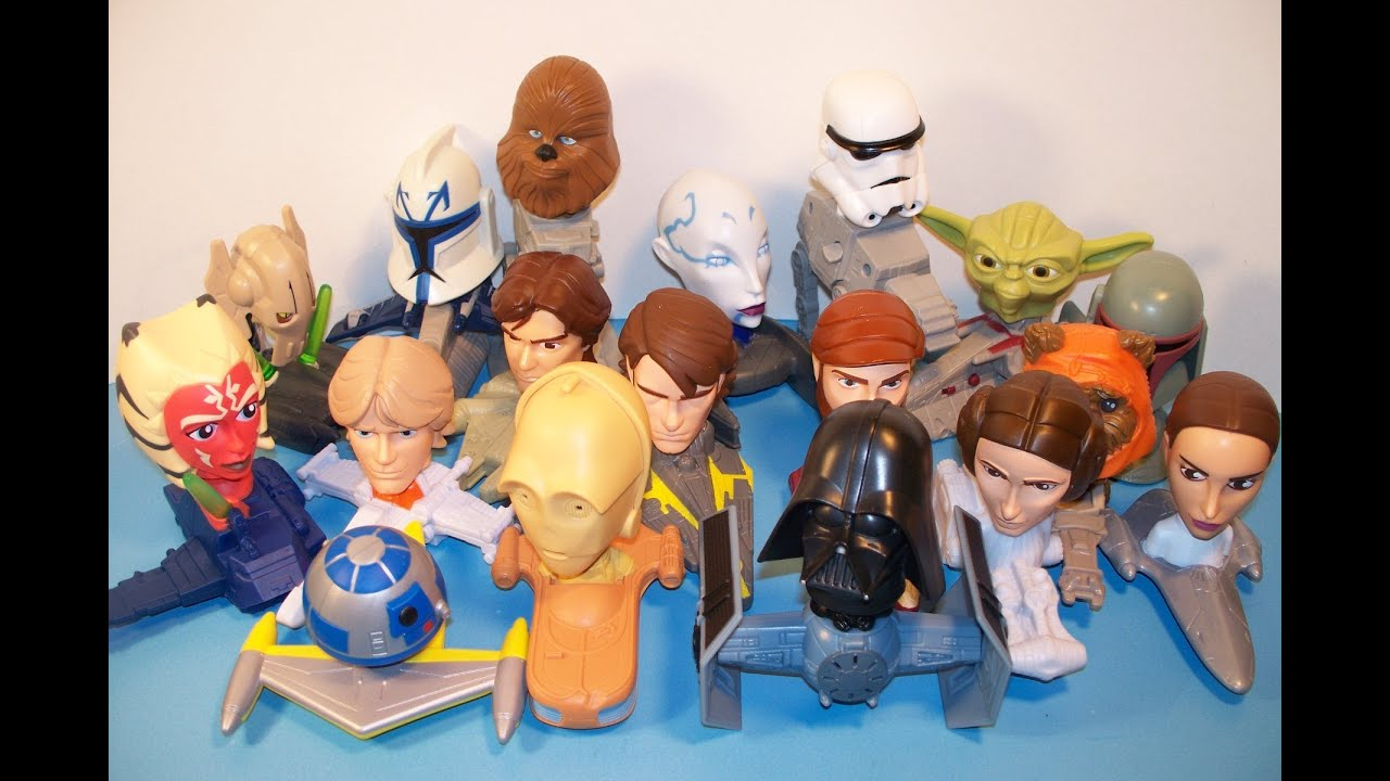 Ranking The 10 Best Star Wars Fast Food Toys