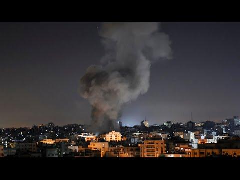 قصف صاروخي متبادل بين الفصائل الفلسطينية المسلحة والجيش الإسرائيلي  - 05:54-2021 / 5 / 16