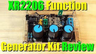 XR2206 Function Generator Kit Review