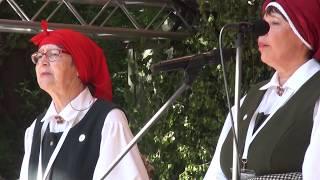 """00007 Folkloras diena """"Novadu sasaukšanās"""" uz Vērmanes dārza lielās skatuves 7.07.2018"""