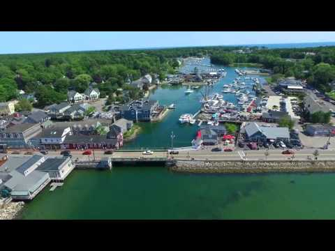 An Aerial Tour of Kennebunk and Kennebunkport, Maine