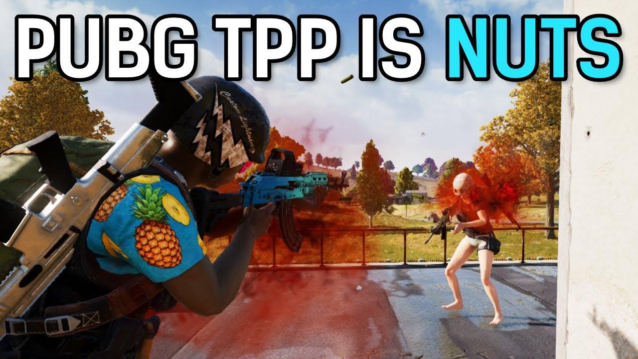 PUBG TPP IS NUTS!