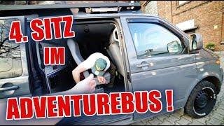 Der T5 Adventurebus bekommt den 4. Sitz 😍😱 | ItsMarvin
