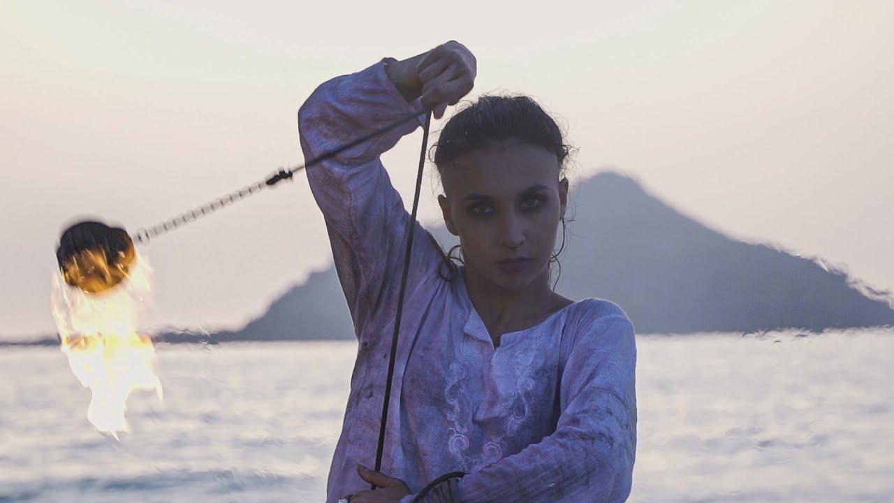 Ényo [Fire rope dart] 🎵 Dead Can Dance - Kiko | Olivia Venner choreography