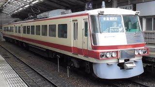 富山地方鉄道16010系 発車シーン【富山駅】