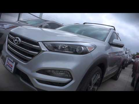 2016 Hyundai Tucson's emergency braking and pedestrian detection