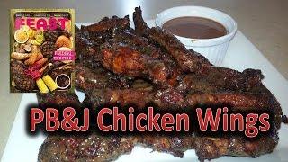 Sticky Pb&j Chicken Wings