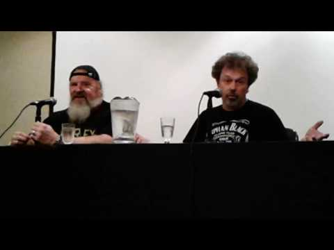 Revenge of the Nerds Q&A Panel with Don Gibb and Curtis Armstrong at Monster-Mania 34 8-13-16