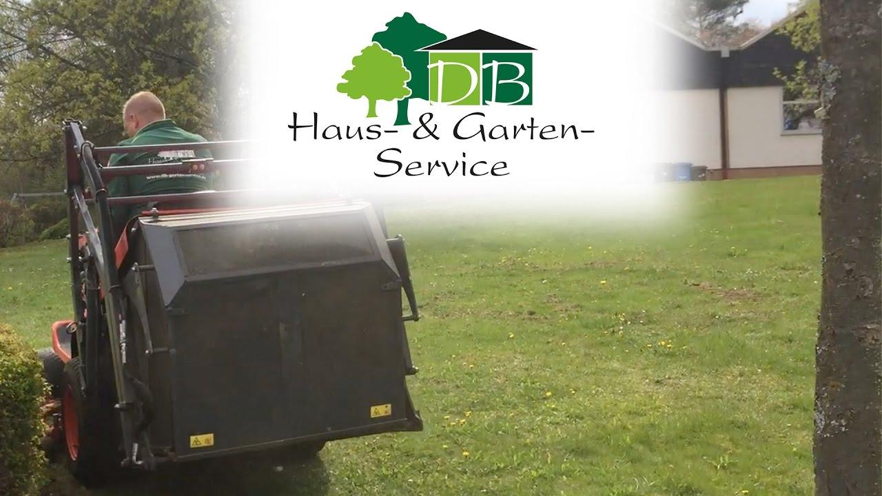 Großflächenmäher im Einsatz | DB Haus- & Gartenservice - YouTube