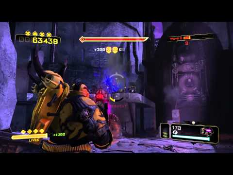 ★ Chaos Unleashed DLC Ownage Gameplay HD ★ Space Marine |