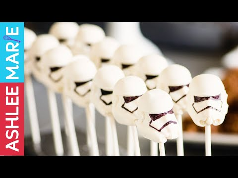 How to make Star Wars birthday party food - Stormtrooper peanut butter cups - The Force Awakens