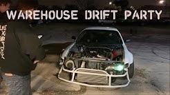 Warehouse Drift Party In Jacksonville Florida
