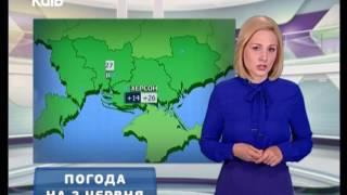 Прогноз погоди - 02.06.2017