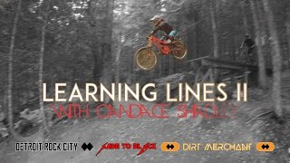 Whistler Bike Park | Learning Lines II with Candace Shadley | Followcam 4k GoPro POV