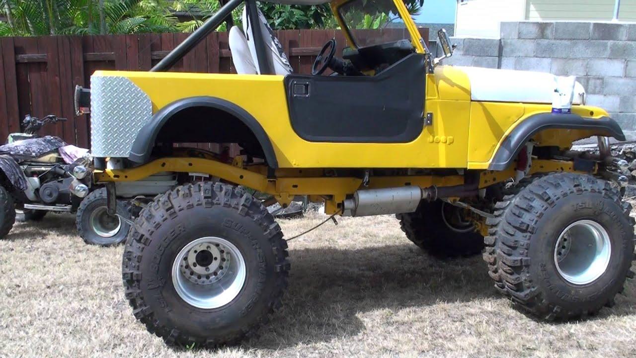 86 Jeep CJ 7 - YouTube