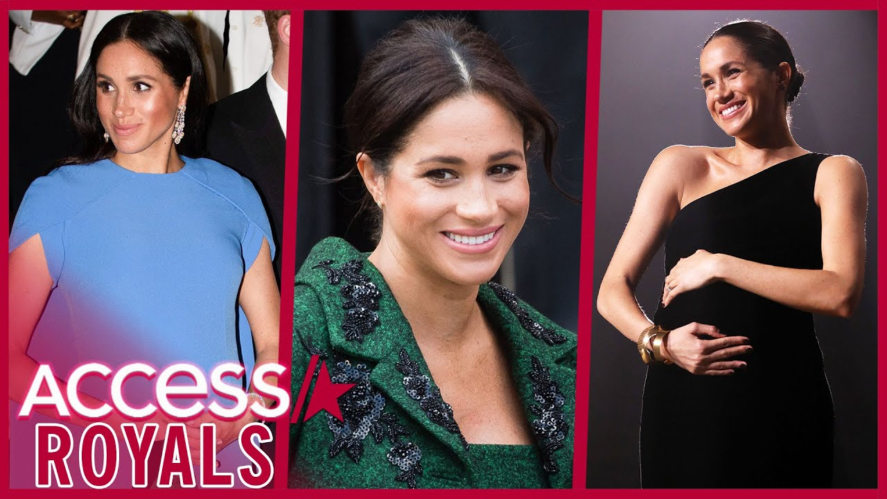 Meghan Markle's Standout Maternity Style While Pregnant w/ Archie