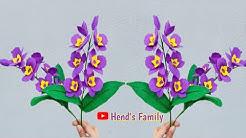 Contoh Cara Membuat Bunga Anggrek Flanel Tutorial Kreasi Mie Sosis