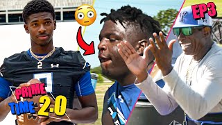 """I'm SICK Of Y'all!"" Deion Sanders Is PISSED At Receivers! Shedeur Gets ATTACKED By Water Balloons!?"