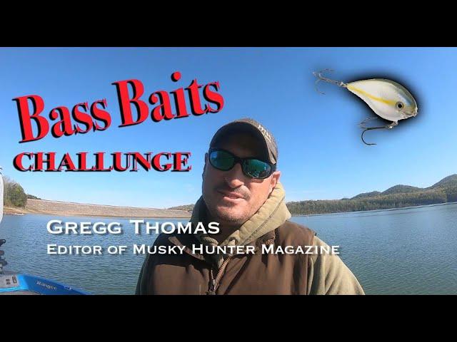 Musky Hunter Magazine S1E4 Bass Baits