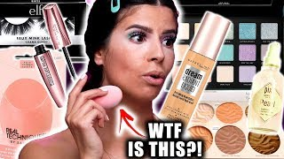 Download I TRIED NEW DRUGSTORE MAKEUP LAUNCHES.... only some of it worked. Mp3 and Videos