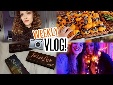 VLOG: Photoshoots, Hull Fair & Halloween! (A very busy week!)