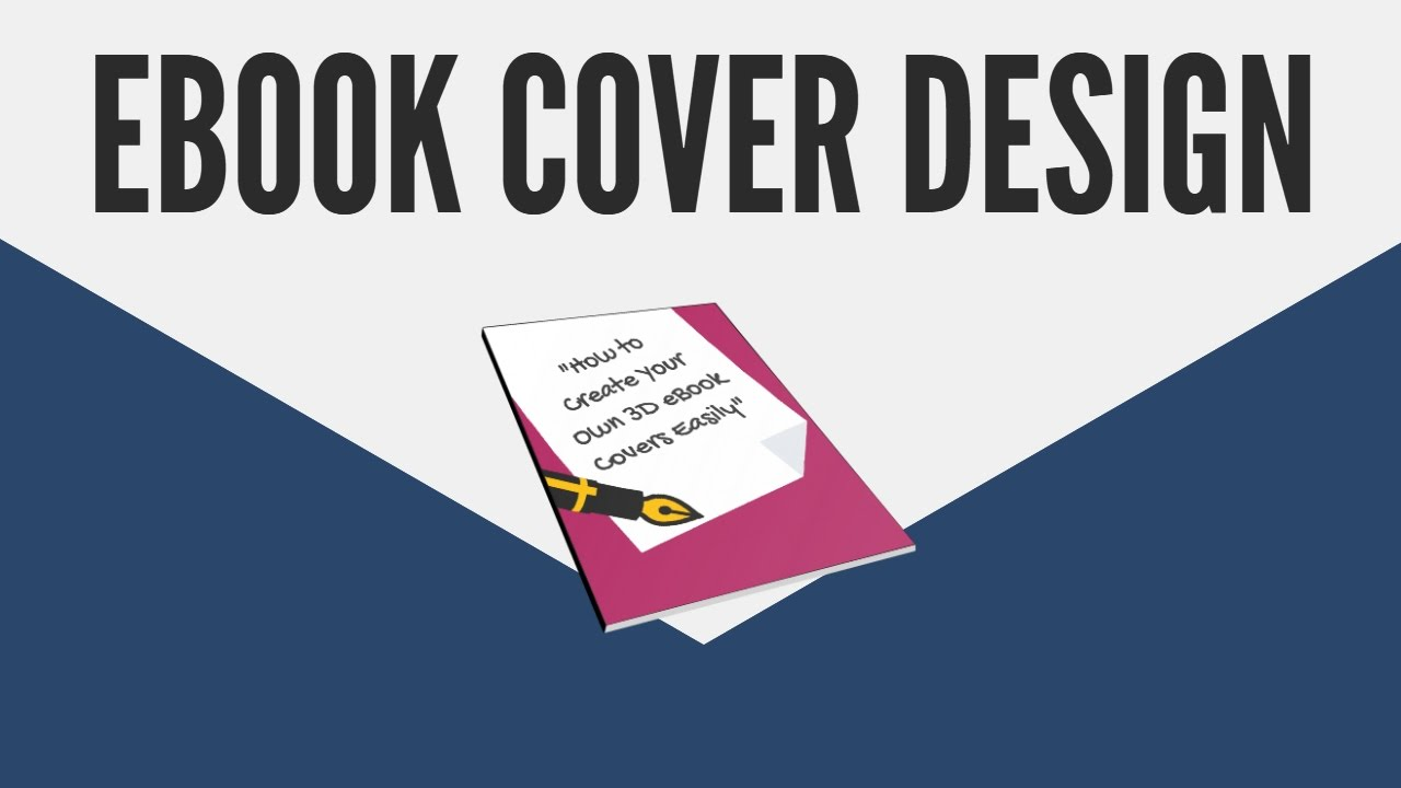 How To Make A Book Cover In 3d Free Ebook Cover Creator Software Youtube