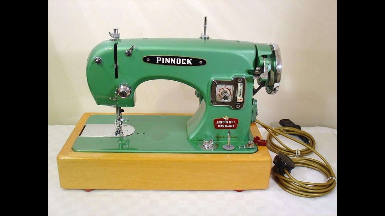 Pinnock Threadmaster sewing machine - made in Australia ...