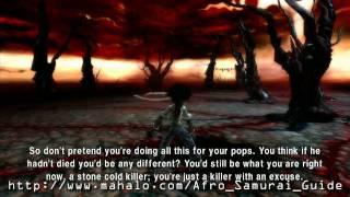 Afro Samurai Walkthrough - Justice Boss Fight Part 1 HD