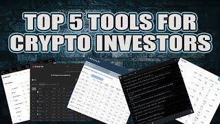 Top 5 Crypto Tools For Investors And How To Use Them - Bitcoin Correction In Play