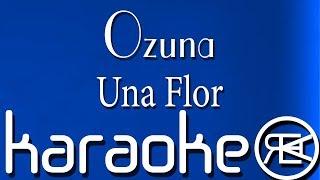 Ozuna - Una Flor  Karaoke Letra