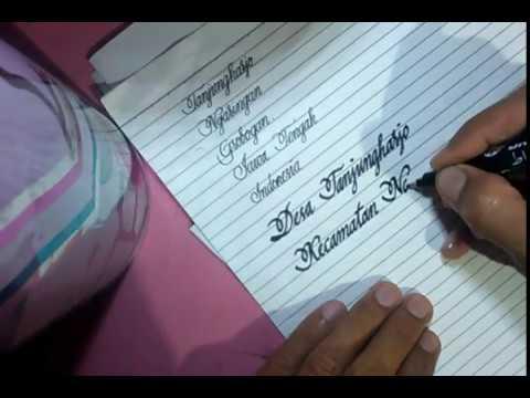 Tulisan tangan classic